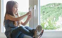Fensterkindersicherung abschließbare Fenstergriffe